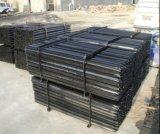호주 1650mm-1800mm 까만 가연 광물 별 말뚝 또는 강철 Y 담 포스트