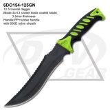 """12.5"""" dos veces al aire libre Mango INYECCIÓN ABS cuchillo de caza, la supervivencia cuchillo: 6do156-125gn"""