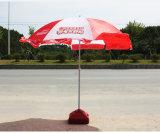 رخيصة ترويجيّ صنع وفقا لطلب الزّبون شاطئ مظلة خارجيّة