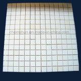Rilievo quadrato di ceramica delle mattonelle dell'allumina di Chemshun dal fornitore di ceramica resistente all'uso