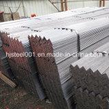 A36 L laminado en caliente ángulo de acero del perfil con galvanizado