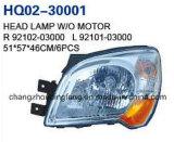 KIA Sportage 2008년을%s KIA 자동차 부속 고품질 헤드 램프