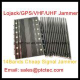14 GSM 3G 4G WiFi UHFVHF van het kanaal 30W de Krachtige GPS Lojack Stoorzender van het Signaal