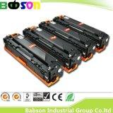 CE, ISO, cartucho de toner compatible chino del color de RoHS para HP Ce320A, Ce321A, Ce322A, precio favorable de Ce323A (128A)/salida rápida