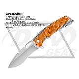 """4,75"""" a mola da faca assistida, táctica Faca dobrável com alça G10: 4PF8-50bk"""