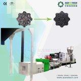 Máquina de recicl plástica do granulador do único parafuso automático cheio