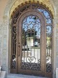 贅沢なカスタム単一の錬鉄エントリ単一のドア