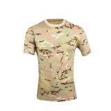 T-shirt de mode de sports/type militaire T-shirt de camouflage de T-shirt