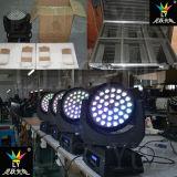 紫外線36X18Wビーム軽い移動ヘッドLED RGBWA