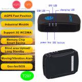 3G Rastreador GPS do veículo com o controle remoto a monitoração de voz T207