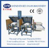 Het Gewicht dat van het hoofdkussen Vacuüm het Vullen Machine (bc1018-2) plaatst