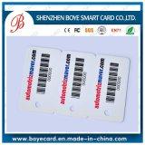 Scheda di insieme dei membri su ordinazione del codice a barre della scheda del codice a barre del PVC/scheda codice di Qr