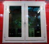 Doble acristalamiento de aluminio color blanco de Casement Ventana (ACW-048)