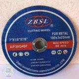 Abschleifende Ausschnitt-Platte für Metal-300X3X20