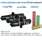 H datilografa o sistema do filtro/Filtro de água do engranzamento da tela de água da irrigação de Bsf080h
