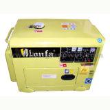 1 Year Warrantyの無声6kVA Electric Power Portable Diesel Generator