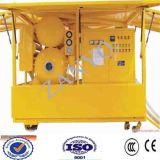 Purificador de aceite horizontal del vacío de la Doble-Etapa de los evaporadores de Zyd dos para el transformador potencial