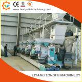 Lubrification automatique de ligne de production de granules de bois
