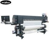 Impressora de Sublimação de 1.6m Máquinas com 2 cabeças