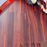 plancher imperméable à l'eau de stratifié de bois de construction de 12.3mm