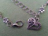 新しいデザイン女性の銀製のビードの鎖のアンクレット