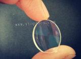 el diámetro de 5m m realzó el espejo plano de aluminio