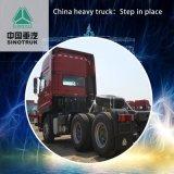 ダンプトラックHOWO M5gの大型トラック340 HP 6X4 5.8mのトラクター