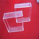 Capsula di Petri Libera del quadrato di vetro di quarzo