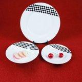 Piatti di porcellana di ceramica dell'indennità degli articoli per la tavola