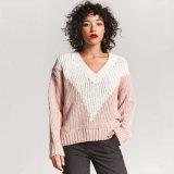 Un maglione delle 2018 nuove di V donne del collo per la molla/pullover di caduta di grande misura
