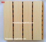 El panel acústico perforado de madera del panel acústico