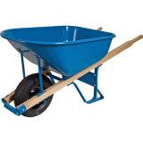 Capacidade de carga pesada pega de madeira 6FT Wheelbarrow