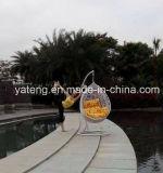 Дешевый напольный стул качания гамака мебели сада Sythetic сплетенным PE-Ротангом (YTA005)
