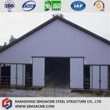 ニュージーランドのプレハブモジュラー鉄骨構造の建物の倉庫