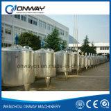 Máquina de mistura industrial de mistura da pintura do tanque da emulsificação da camisa de aço inoxidável do Pl