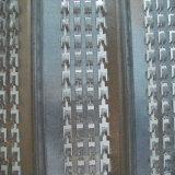 壁の型枠の高い骨がある型枠の網
