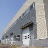 Figerglass 샌드위치 위원회 건축 강철 프레임 구조 창고 건물