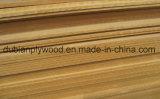 Sapele/Oak/Porte de placage de noyer/panneau de porte de la peau de Linyi Fabrication