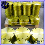 JIS B2220 10K levantada Rosqueado Face SS400 flange a flange (stock)