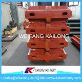 Catena di montaggio di alta qualità staffa di fonderia utilizzata per la strumentazione della fonderia