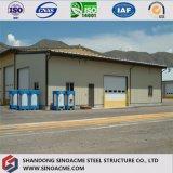 Construction préfabriquée multifonctionnelle du marché de bâti en acier de modèle modulaire