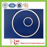 Joint circulaire blanc de la couleur PTFE