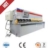 Máquina de estaca hidráulica da placa do ferro do pêndulo do CNC 4*3200