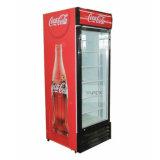 Refrigerador refrigerado bebida vertical del escaparate