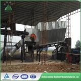 China-Abfall, der sortieren und Msw städtischer Feststoff, der Maschine aufbereitet