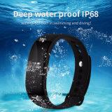 Imperméable IP68 Sport Smart Bracelet avec moniteur de fréquence cardiaque V66