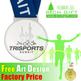 Medalha de metal customizada barata promocional como lembrança de artesanato