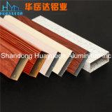 Het houten het Schilderen van de Overdracht van de Korrel Profiel van het Aluminium voor de Deur van de Garderobe