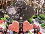 De Russische Grafsteen van het Graniet van de Stijl met het Ontwerp van de Douane