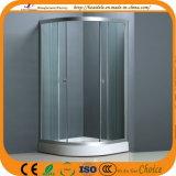Sistema di chiusura di alluminio dell'acquazzone del raso di vetro libero (ADL-8012)